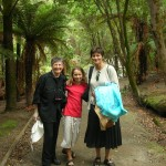 J with Emily and Kate in NZ 2004